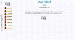 Preview of dwarsfluitles.nl