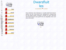 Tablet Preview of dwarsfluitles.nl